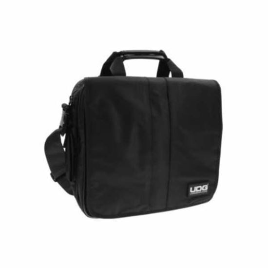 Immagine di UDG COURIER BAG DELUXE BLACK - BORSA PER 40 DISCHI VINILE E LAPTOP