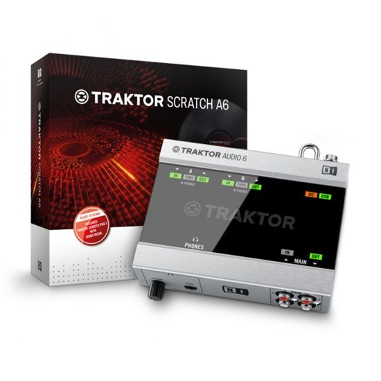Immagine di TRAKTOR SCRATCH AUDIO 6