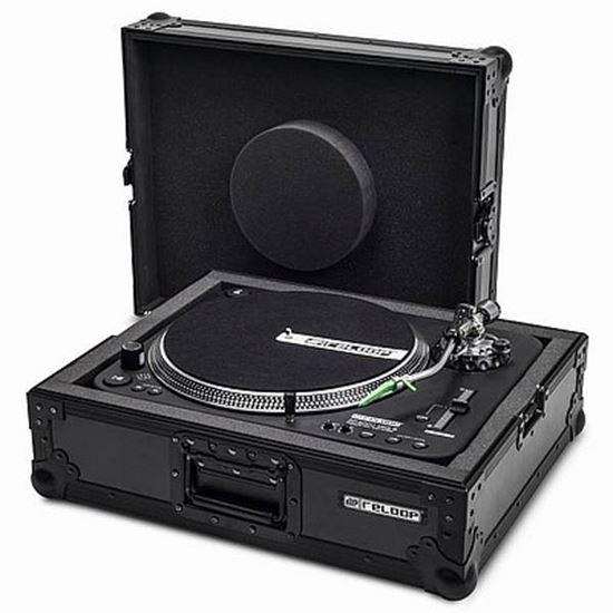 Immagine di TURNTABLE CASE BLACK case per giradischi