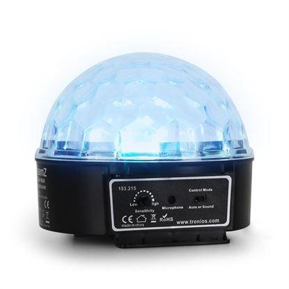 Immagine di Mini Star Ball Sound RGBWA LED 6x3W