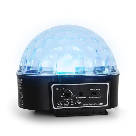 Immagine di Mini Star Ball Sound RGBWA LED 6x3W