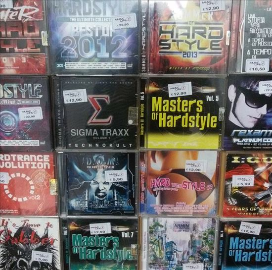 Immagine di CD COMPILATION HARDSTYLE E TECHNO