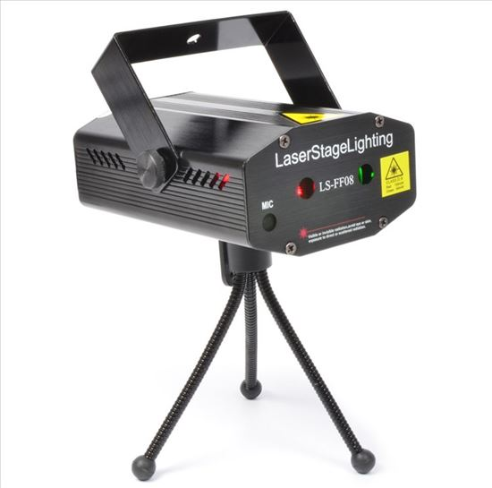 Immagine di LS-FF08 MINI LASER RED GREEN GOBO