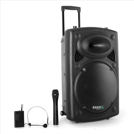 Immagine di Port12VHF-BT CASSA AMPLIFICATA sound system USB SD bluetooth