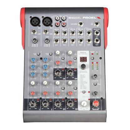 Immagine di MI10 Mixer Compatto 10 Canali con Effetti Fx