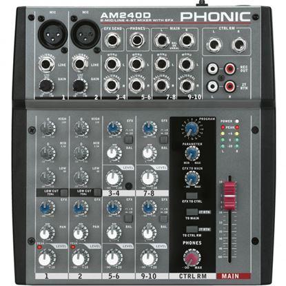 Immagine di AM 240 D Mixer 10 Canali con FX