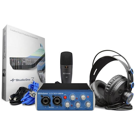 Immagine di Audiobox Usb 96 Studio Bundle + Studio One omaggio!