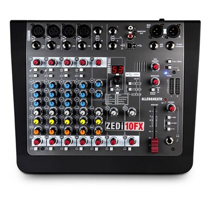 Immagine di ZED-10FX Mixer 10 Canali con Effetti