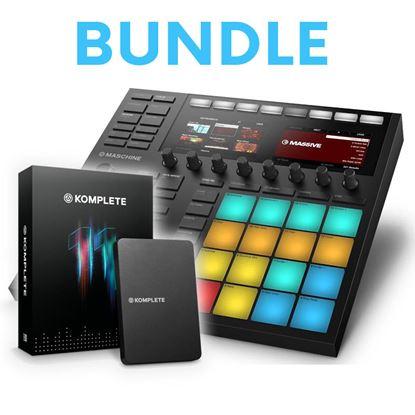 Immagine di Bundle Maschine MK3 + Komplete 11 - Groove Box + Soundbank / Vst + Effetti