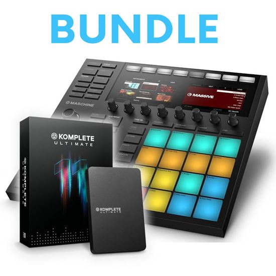 Immagine di Bundle Maschine MK3 + Komplete 11 Ultimate - Groove Box + Soundbank e Effetti