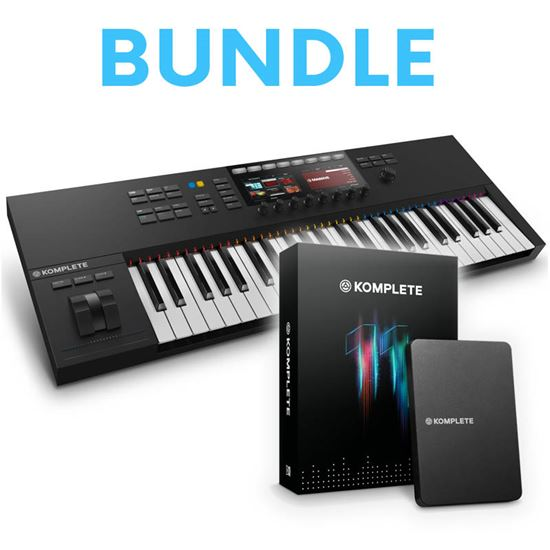 Immagine di Bundle Kontrol s49 MK2 + Komplete 11 - Keystation + Soundbank e Vst