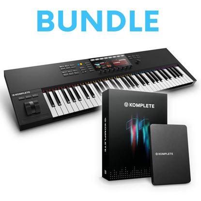 Immagine di Bundle Komplete Kontrol S61 MK2 + Komplete 11 - Keystation + Soundbank e Vst
