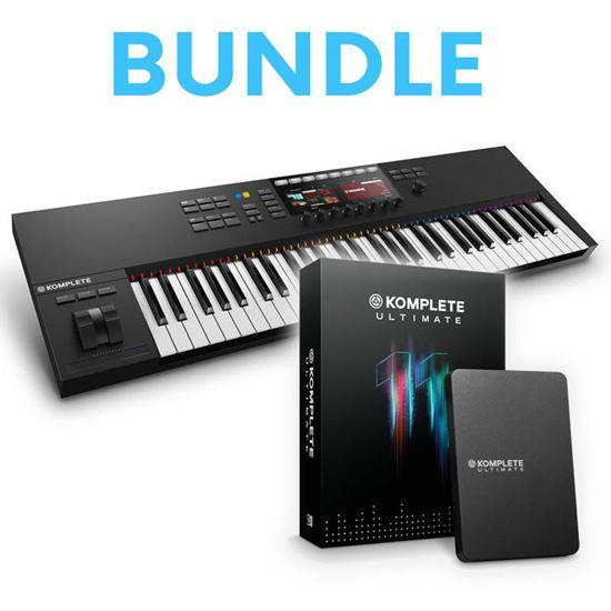 Immagine di Bundle Komplete Kontrol S61 MK2 + Komplete 11 Ultimate - Keystation + Soundbank e Effetti