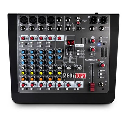 Immagine di ZEDi-10FX - Mixer con Scheda Audio 4 in 4 out