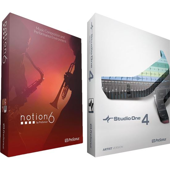 Immagine di Studio One 4 Artist / Notion 6 - Bundle
