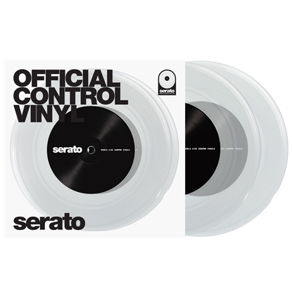 "Immagine di Official Control Vinyl 7"" (Coppia) Clear"