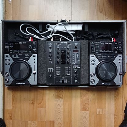 Immagine di Console CDJ 400 + DJM 400 + Case - Usato