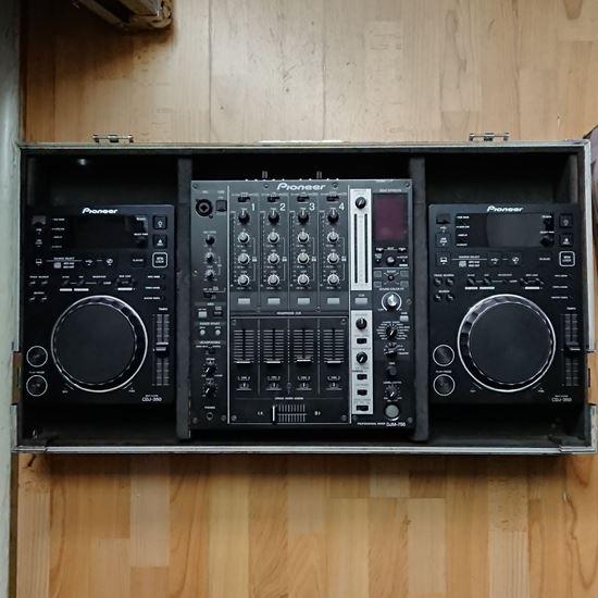 Immagine di Console Djm 750 / Cdj 350 con Case - Usato
