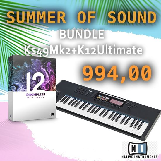 Immagine di BUNDLE KONTROL S49MK2 + KOMPLETE 12 ULTIMATE
