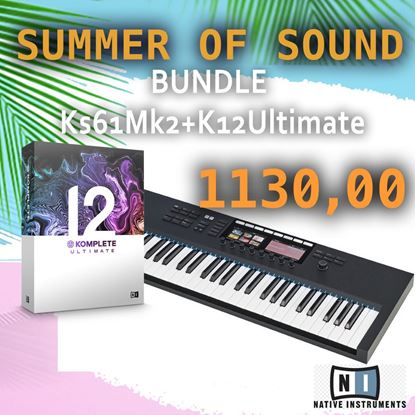 Immagine di BUNDLE KONTROL S61 MK2 + KOMPLETE 12 ULTIMATE