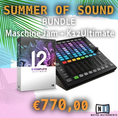 Immagine di BUNDLE MASCHINE JAM + KOMPLETE 12 ULTIMATE