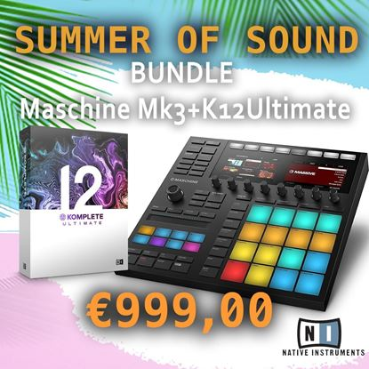 Immagine di BUNDLE MASCHINE MK3 + KOMPLETE 12 ULTIMATE