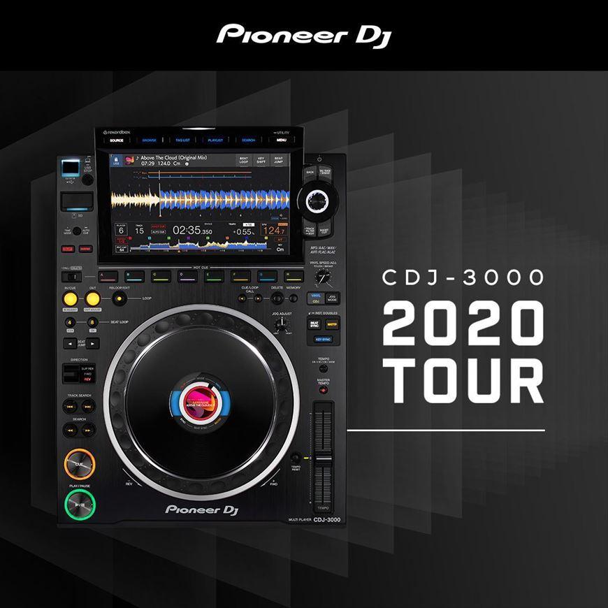 CDJ 3000 TOUR